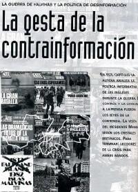 La gesta de la contrainformación